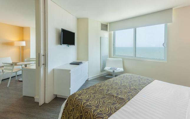 JUNIOR SUITE KING BED OCEAN VIEW Relax Corales de Indias Hotel GHL Cartagena de Indias