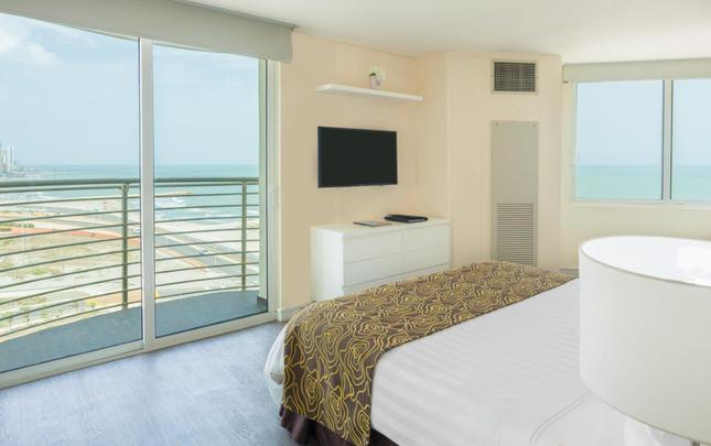 Standard Room Double Bed Ocean View Relax Corales de Indias Hotel GHL Cartagena